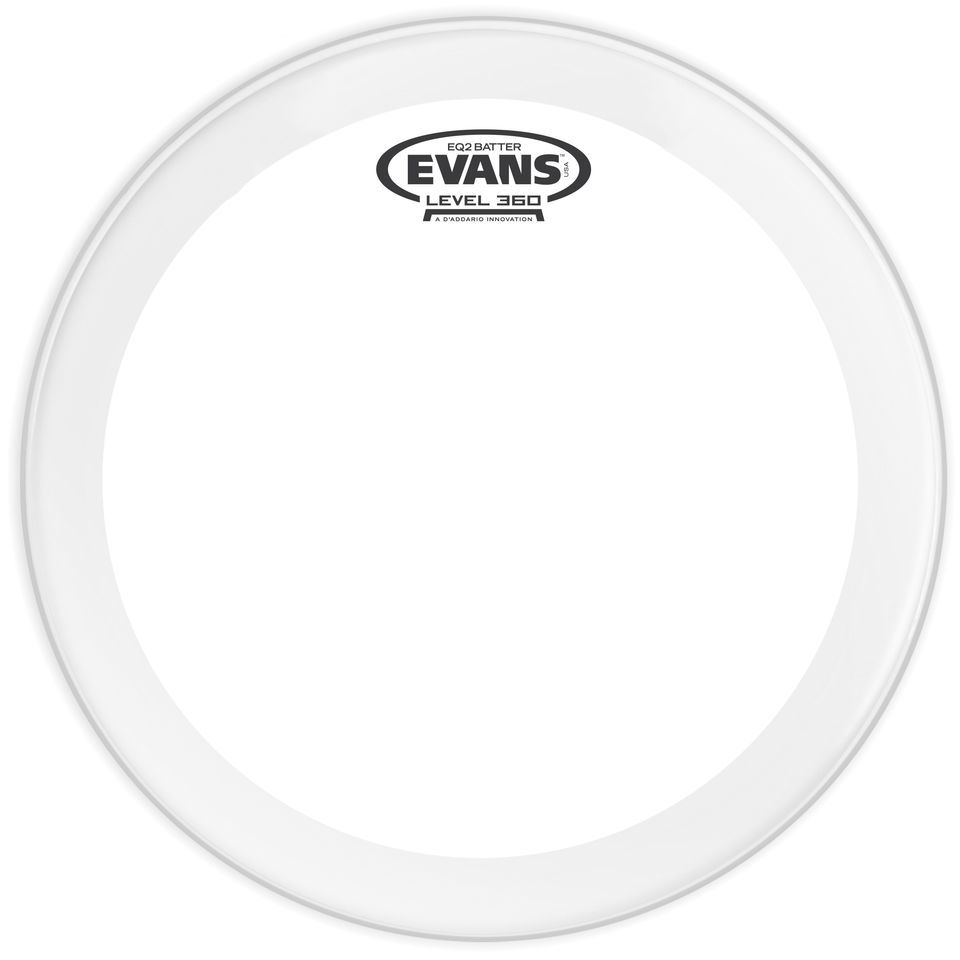 "Evans EQ1 Coated 24"", BD24GB1C, BassDrum Batter Produktbild"