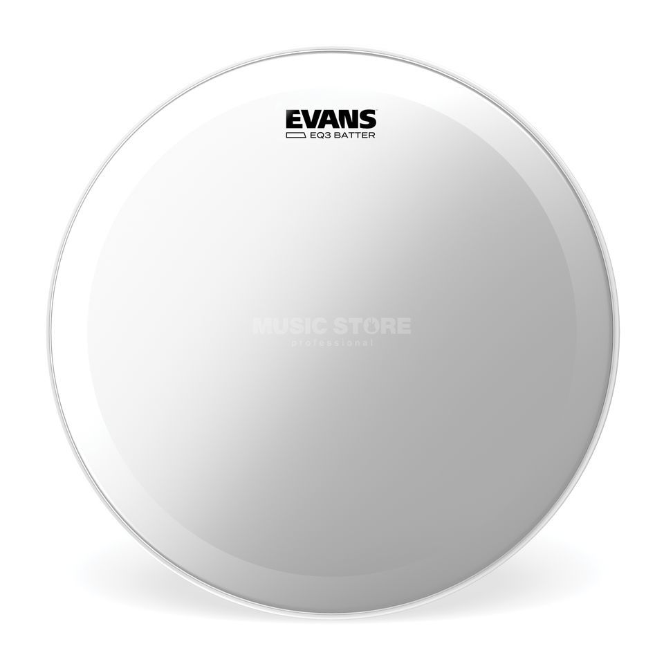 "Evans EQ3 Clear 24"", BD24GB3, Bass Drum Batter Product Image"