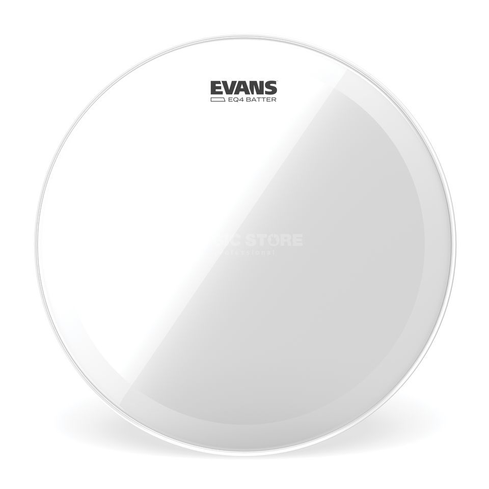 "Evans EQ4 Clear 20"", BD20GB4, basDrum Batter Productafbeelding"