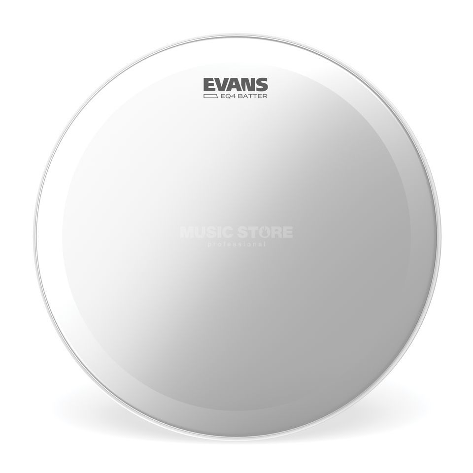 "Evans EQ4 Coated 18"", BD18GB4C, BassDrum Batter Product Image"