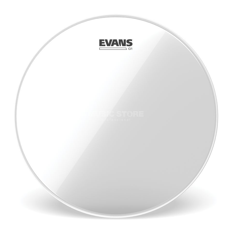 "Evans G1 Clear 12"", TT12G1, Tom Batter Product Image"
