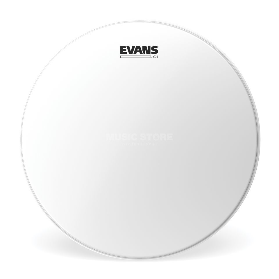 "Evans G1 Coated 22"", BD22G1CW, basDrum Batter Productafbeelding"