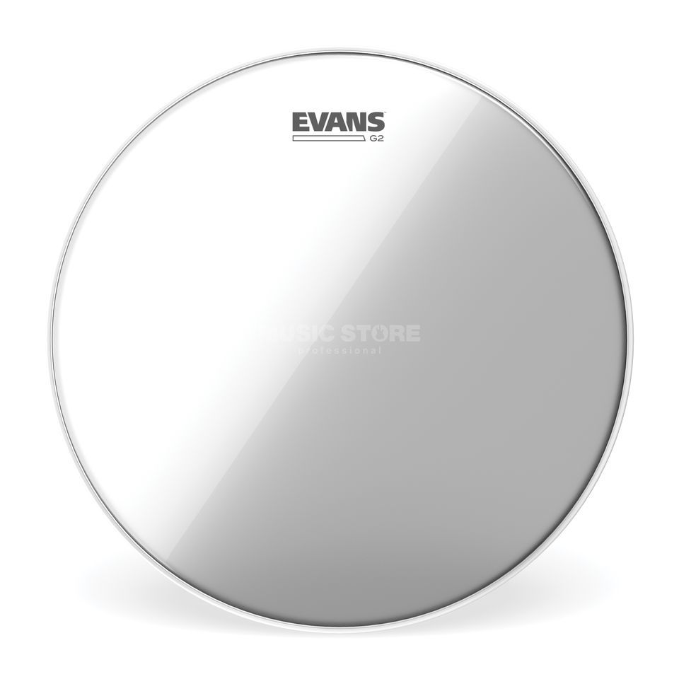 "Evans G2 Clear 20"", BD20G2, basDrum Batter Productafbeelding"