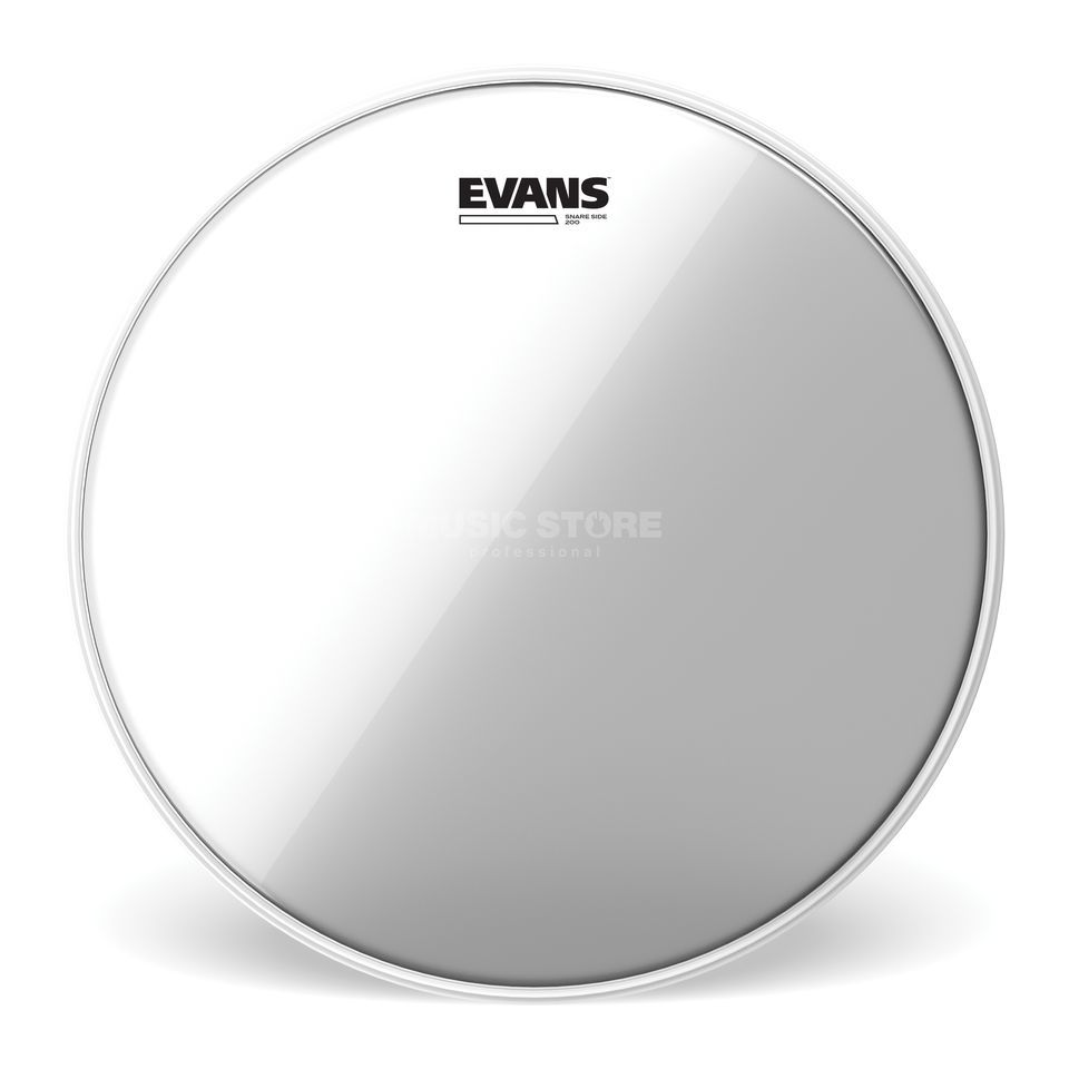 "Evans Hazy 200, 12"", S12H20, Snare Reso Product Image"