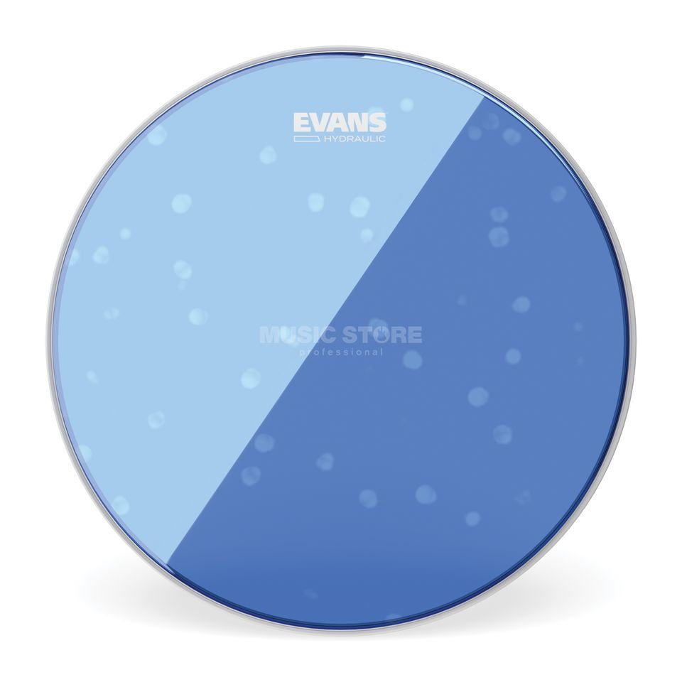 "Evans Hydraulic Blue 22"", BD22HB, BassDrum Batter Product Image"