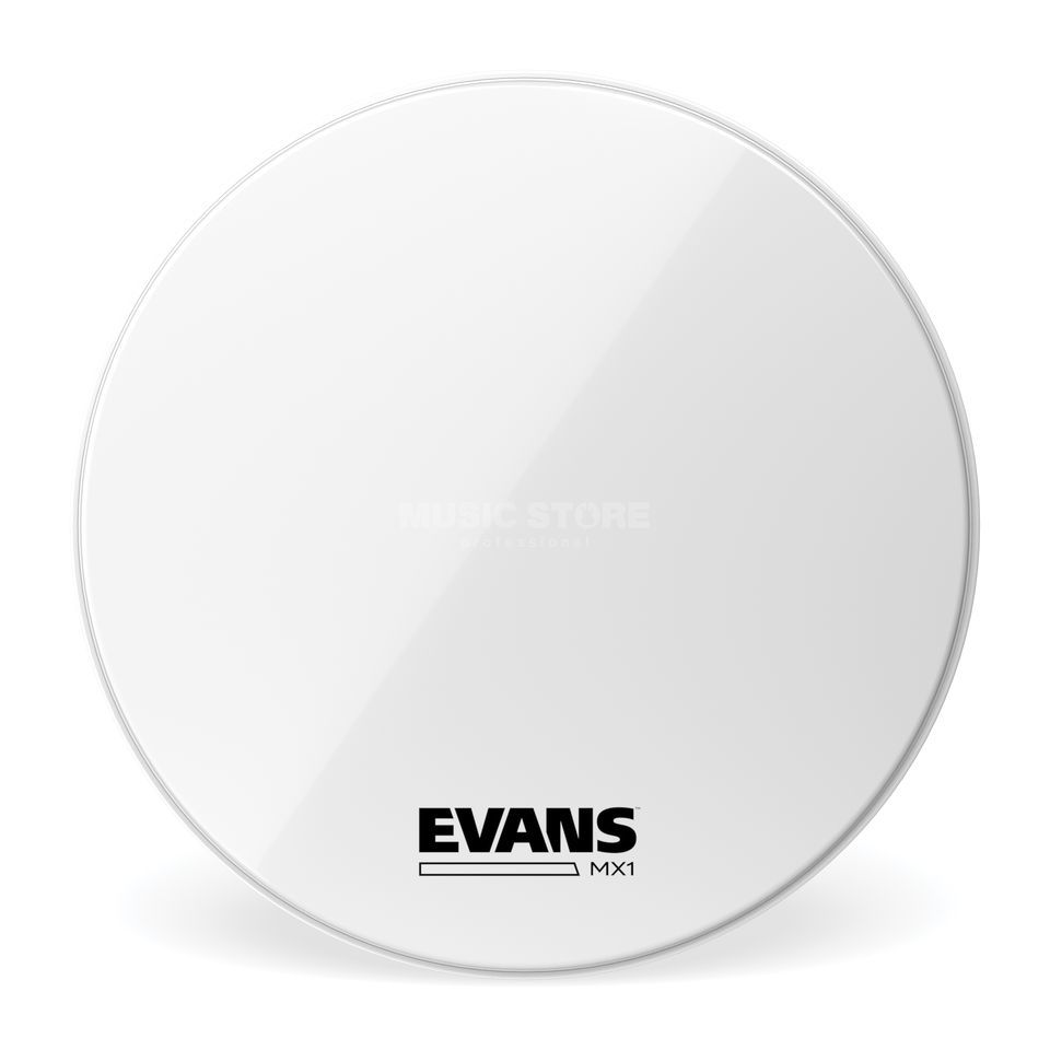 "Evans Marching BD22MX1W, 22"" White Produktbillede"