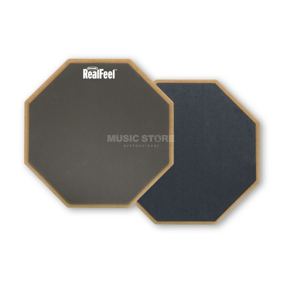 "Evans Practice Pad Real Feel RF-12D, 12"", double-sided Product Image"