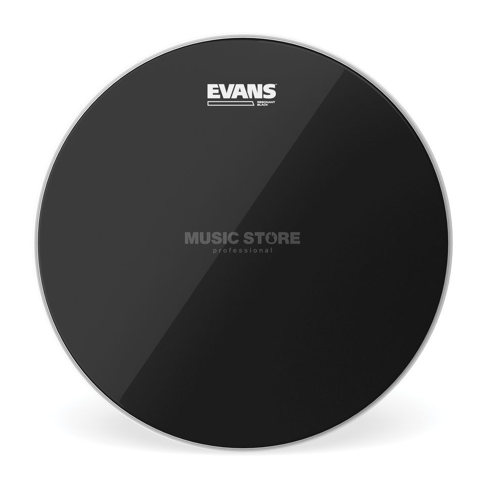 "Evans Resonant Black 12"", TT12RBG, Tom Reso Product Image"