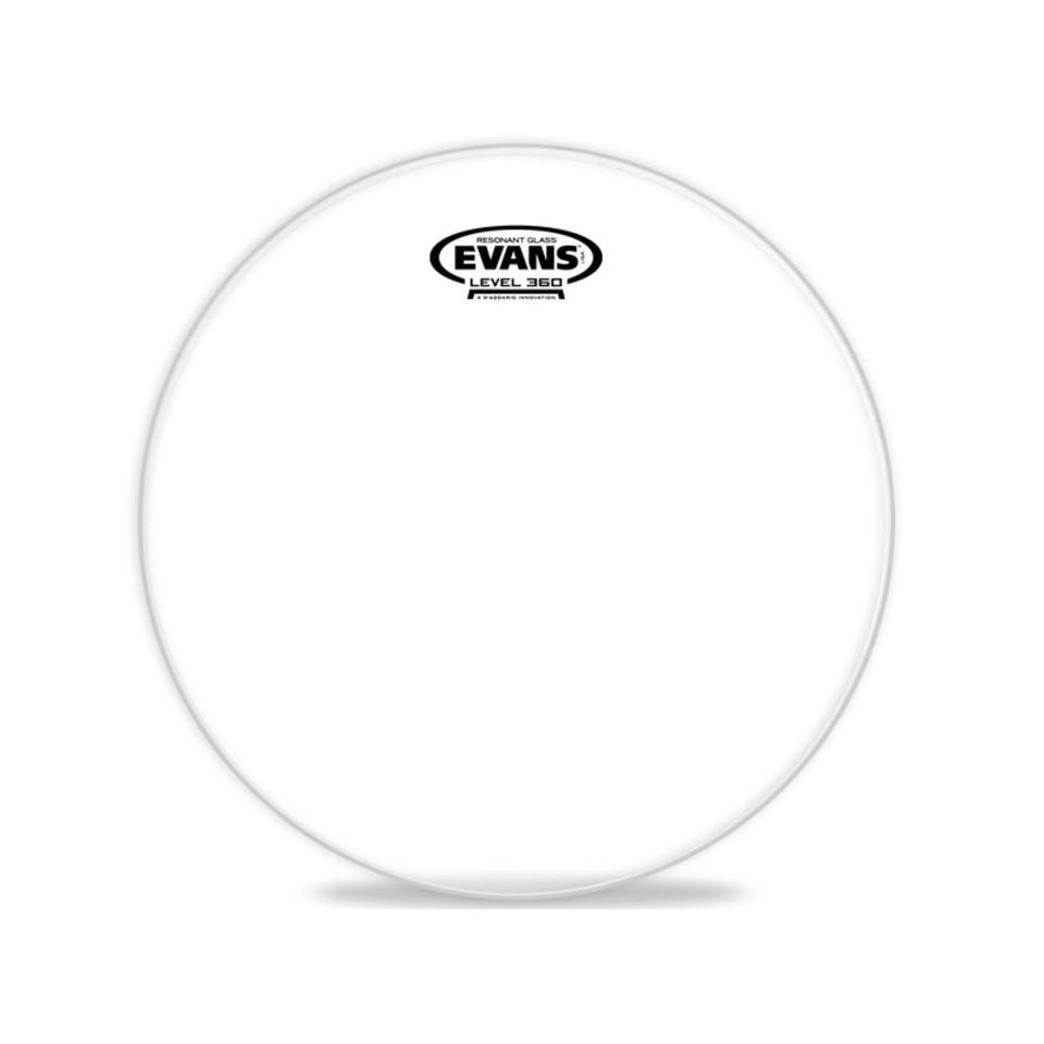"Evans Resonant Glass 14"", TT14RGL, peau de résonance tom Image du produit"