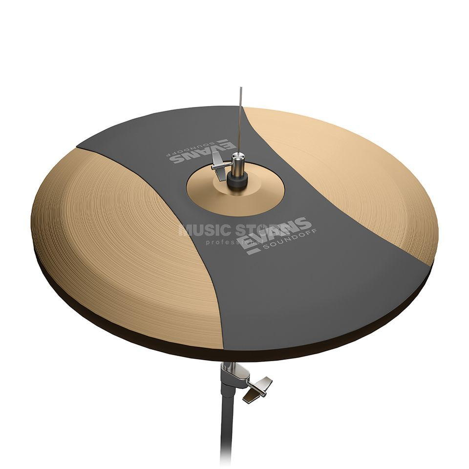 "Evans Sound Off HiHat Pad 14""  Product Image"
