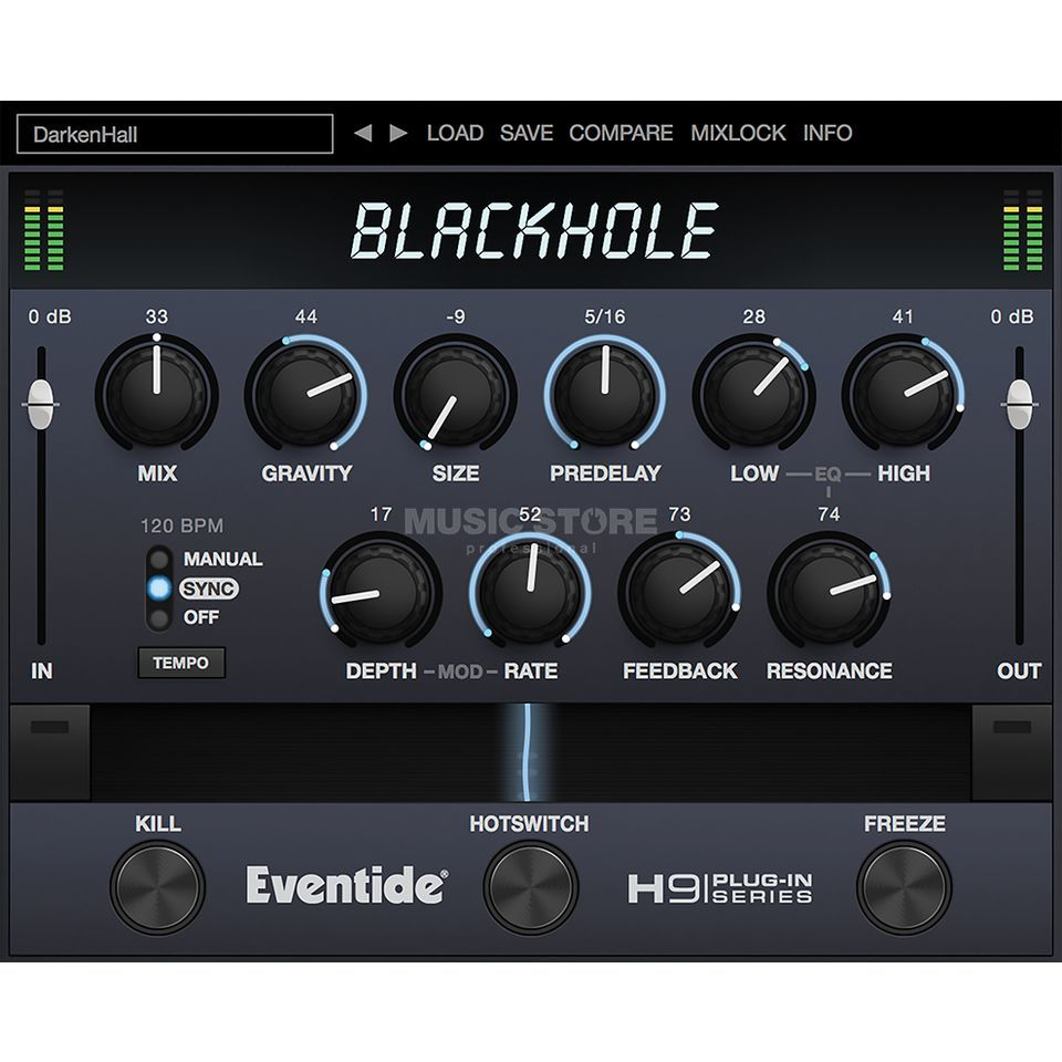 Eventide BlackHole Native    Produktbillede