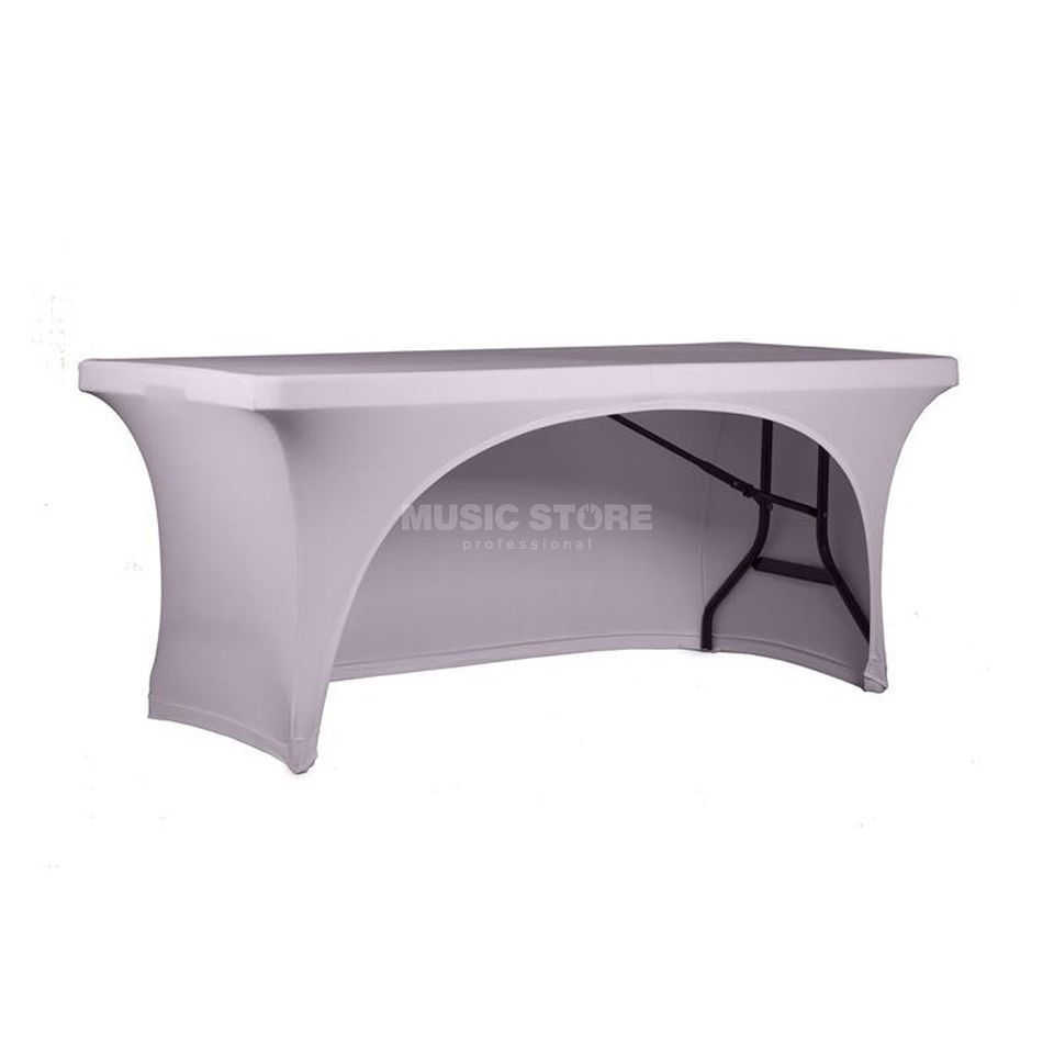 Expand Table Cover single opening 1.6m x 0.7m, rotateable white Produktbillede
