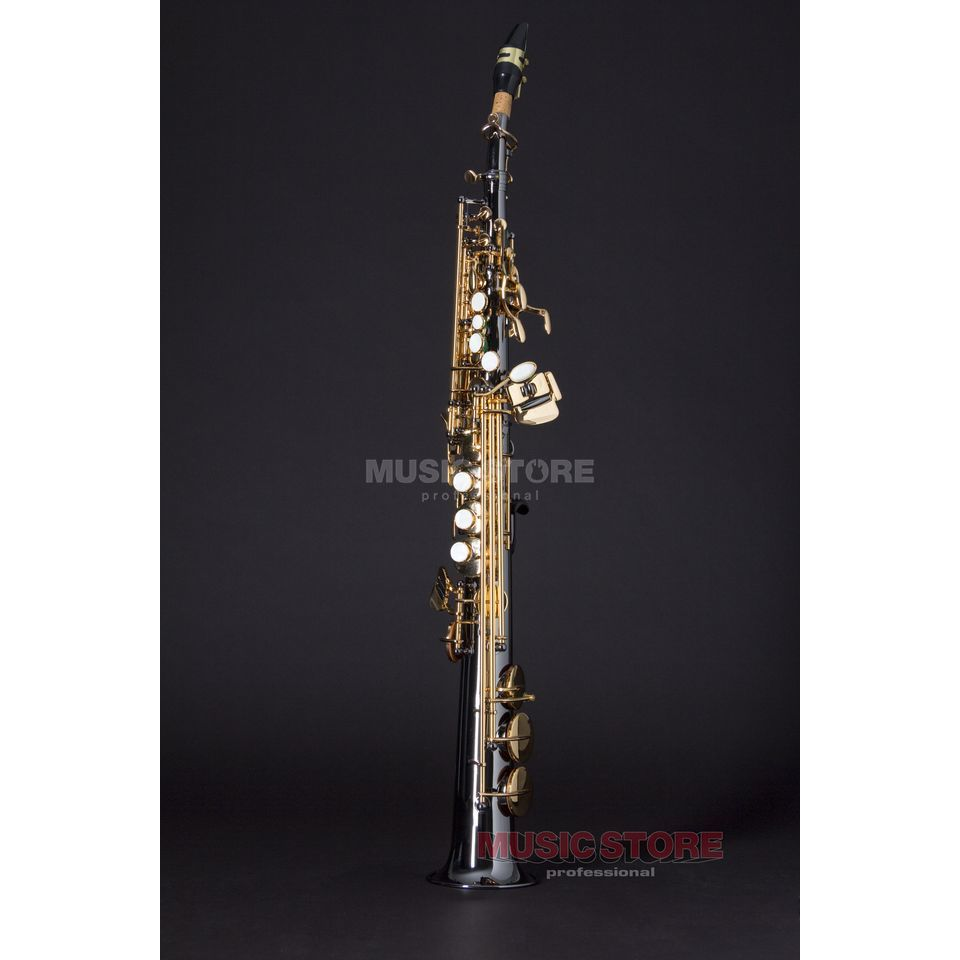 Expression S-102 BG Soprano Saxophone - Straight, Black Brass Изображение товара