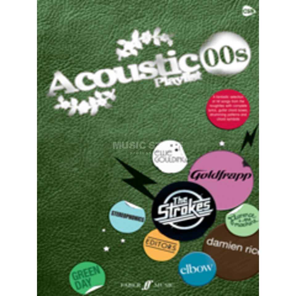 Faber Music Acoustic Playlist 00s Vocal/Guitar Songbook Produktbild