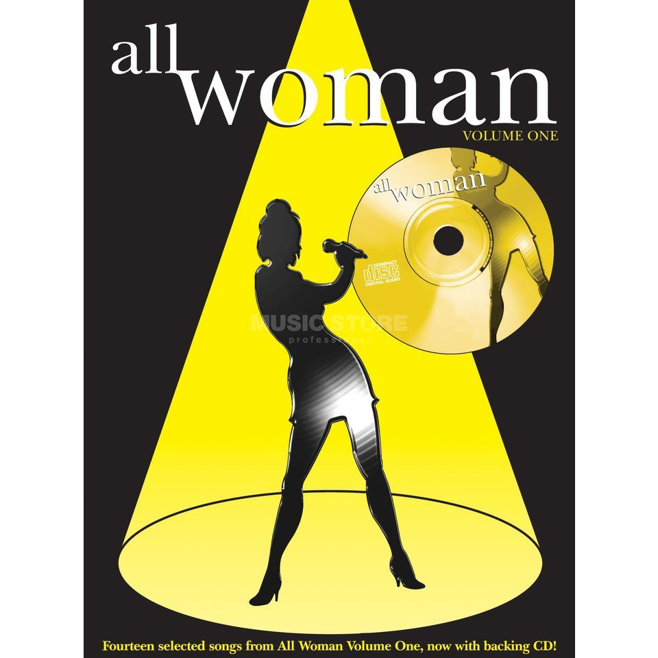 Faber Music All Woman Vol. 1 PVG mit Playback CD Produktbild