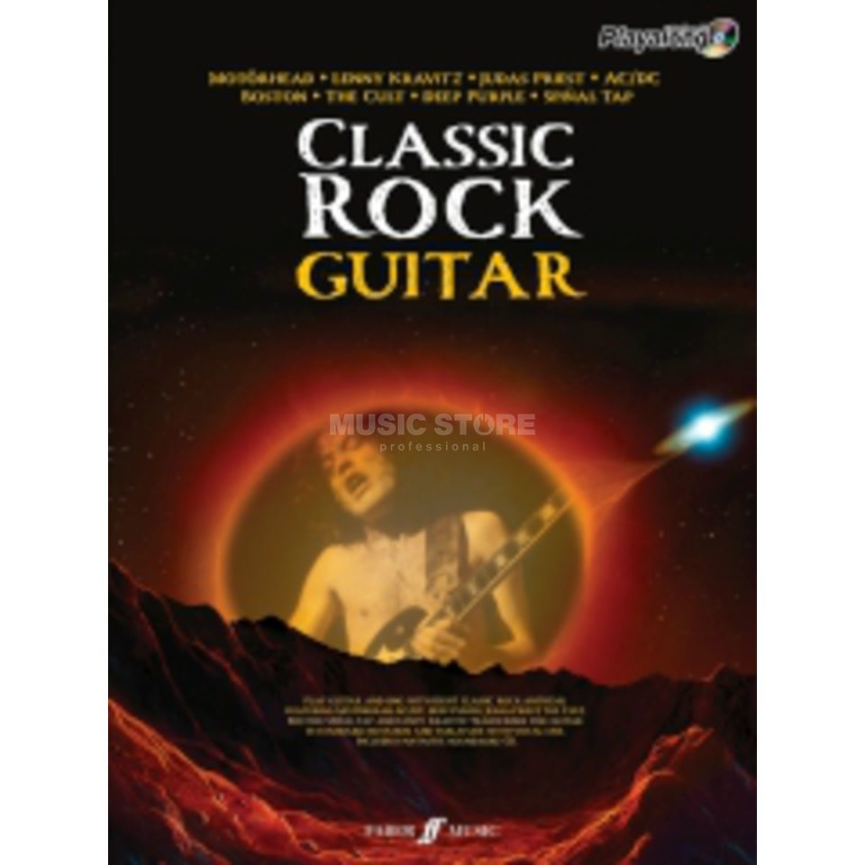 Faber Music Auth.Play Along - Classic Rock Guitar, TAB/CD Produktbild