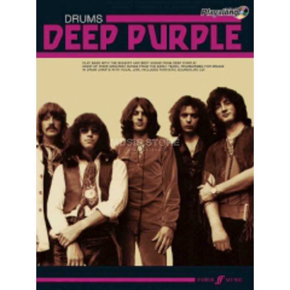 Faber Music Auth.Play Along - Deep Purple Drums, CD Produktbillede