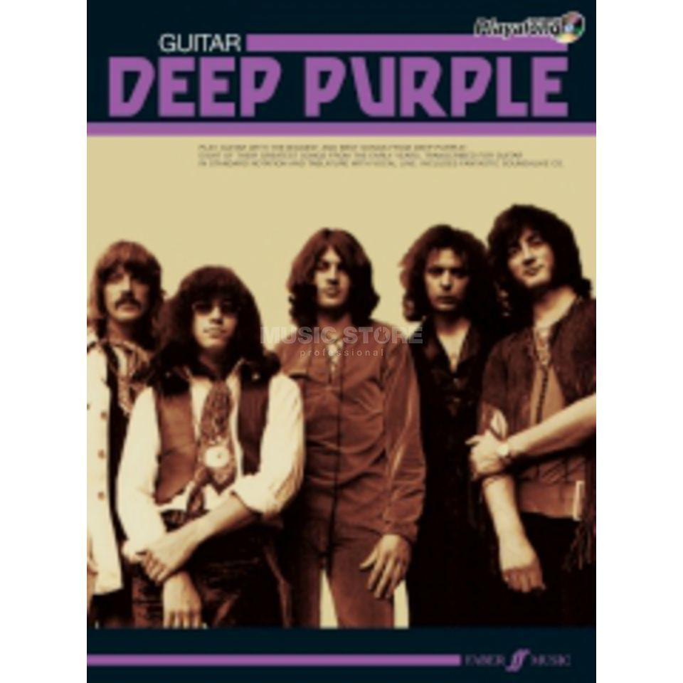 Faber Music Auth.Play Along - Deep Purple Guitar, TAB/CD Produktbild