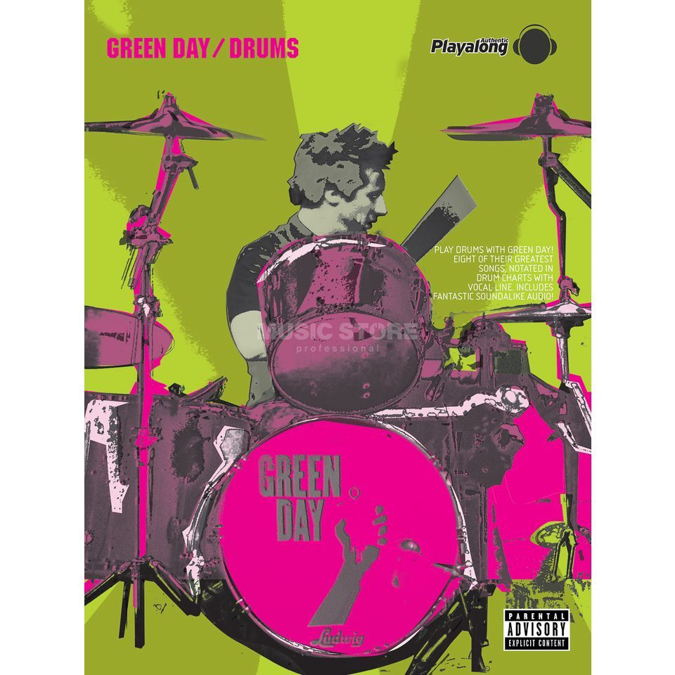 Faber Music Auth.Play Along - Green Day Drums, CD Produktbillede