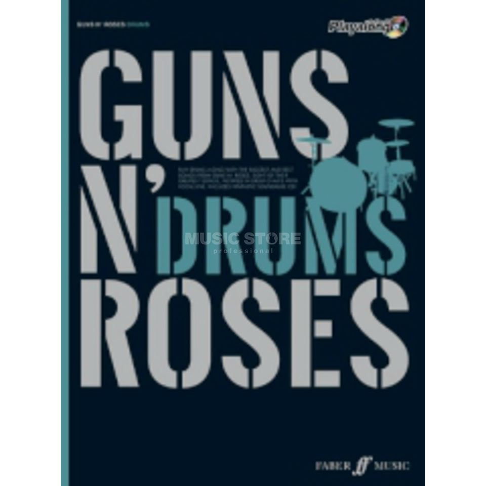 Faber Music Auth.Play Along - Guns N'Roses Drums, CD Produktbild