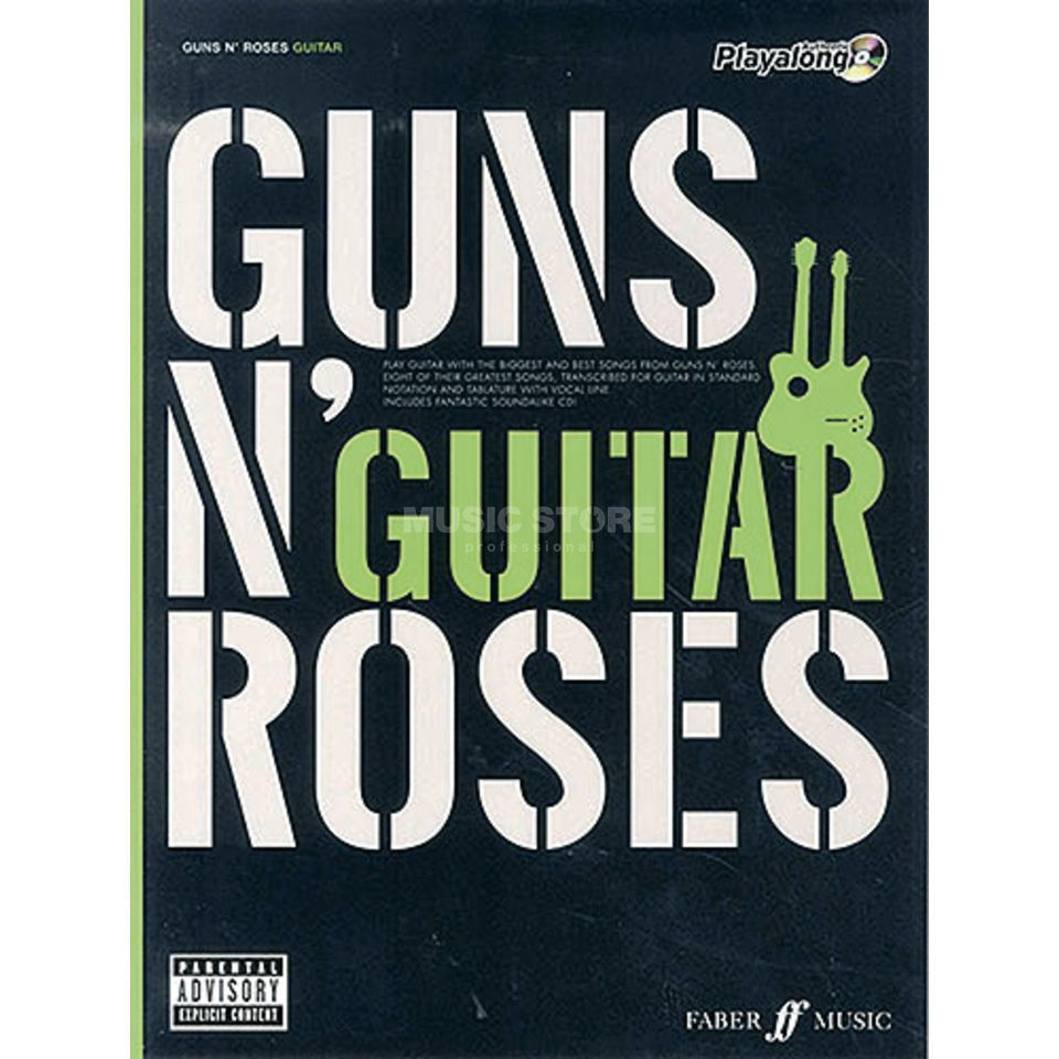 Faber Music Auth.Play Along - Guns N'Roses Guitar, TAB/CD Produktbild