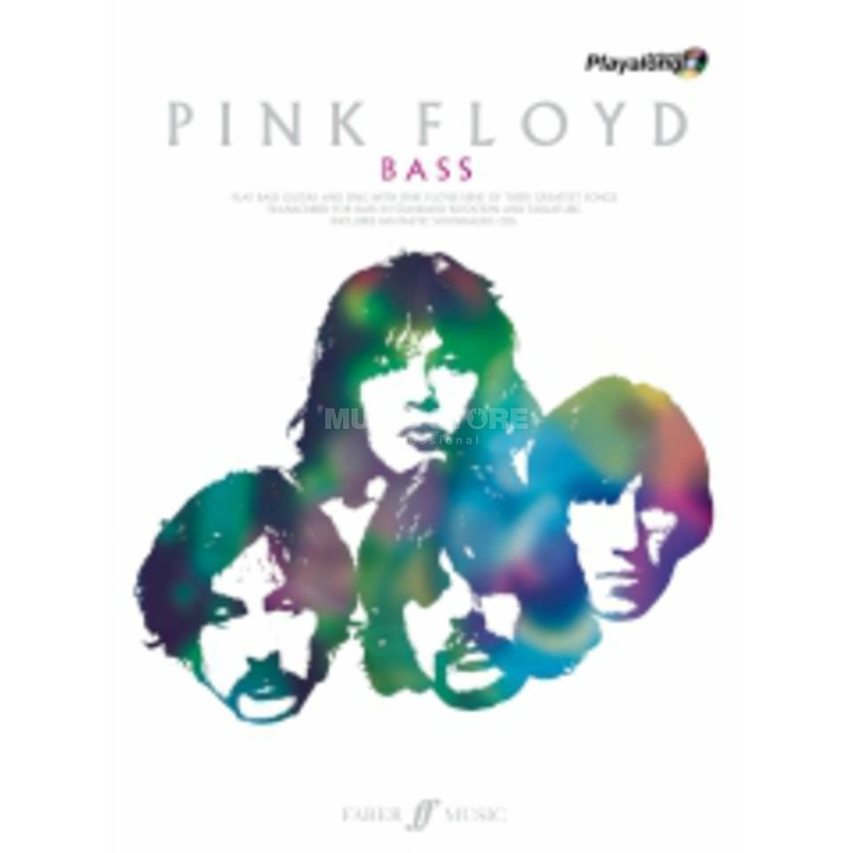 Faber Music Auth.Play Along - Pink Floyd Bass, TAB/CD Produktbillede