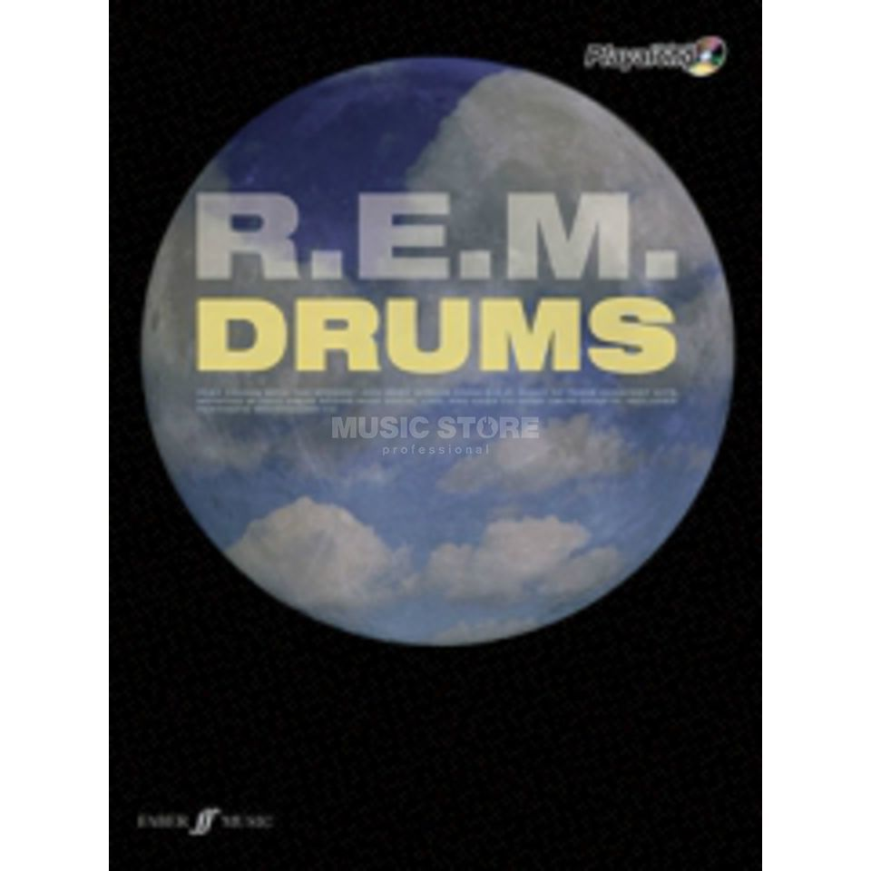 Faber Music Auth.Play Along - R.E.M. Drums, CD Produktbillede