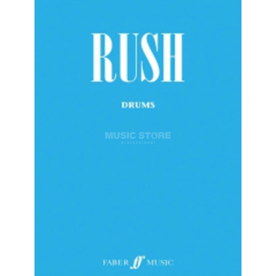 Faber Music Auth.Play Along - Rush Drums, CD Produktbillede