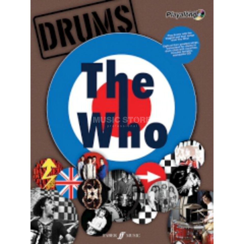 Faber Music Auth.Play Along - The Who Drums, CD Produktbillede