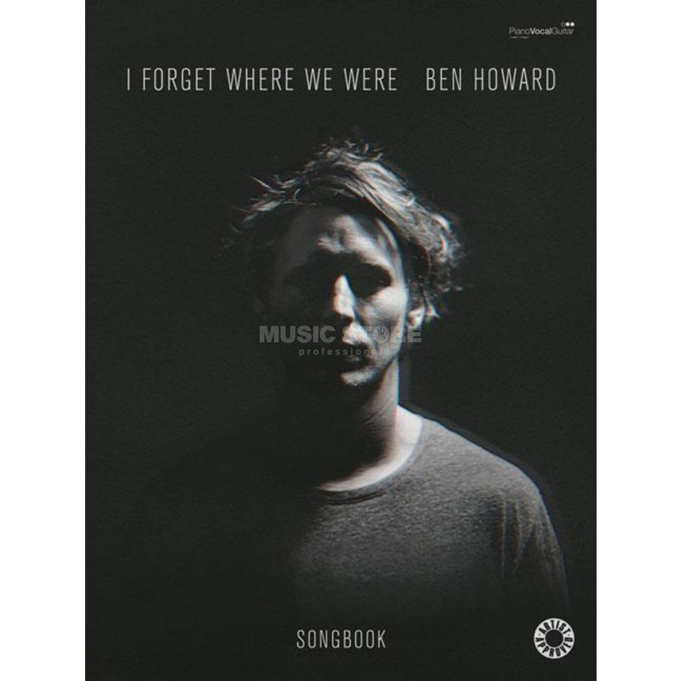 Faber Music Ben Howard: I Forget Where We Were Produktbild