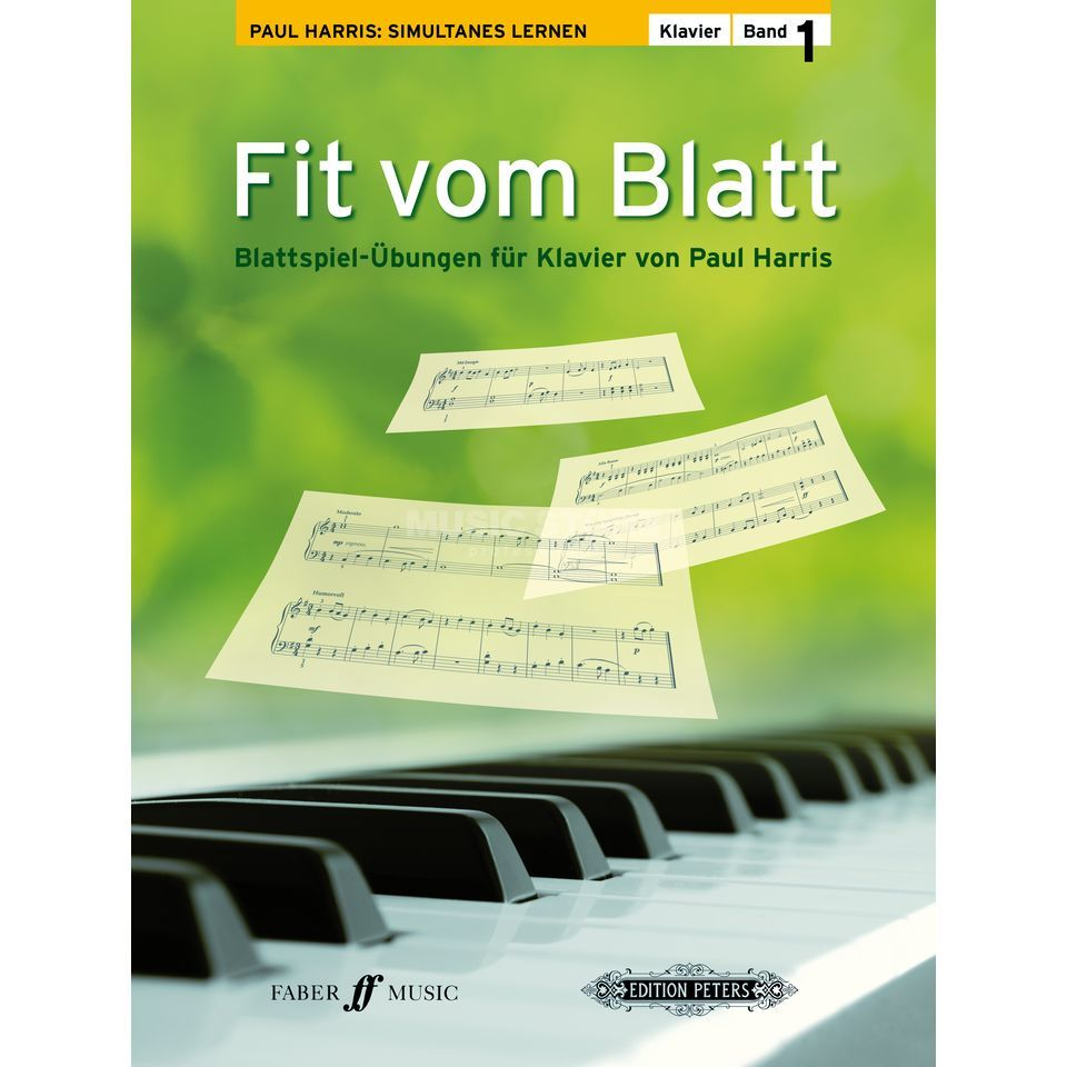 Faber Music Fit vom Blatt 1 Paul Harris Produktbild