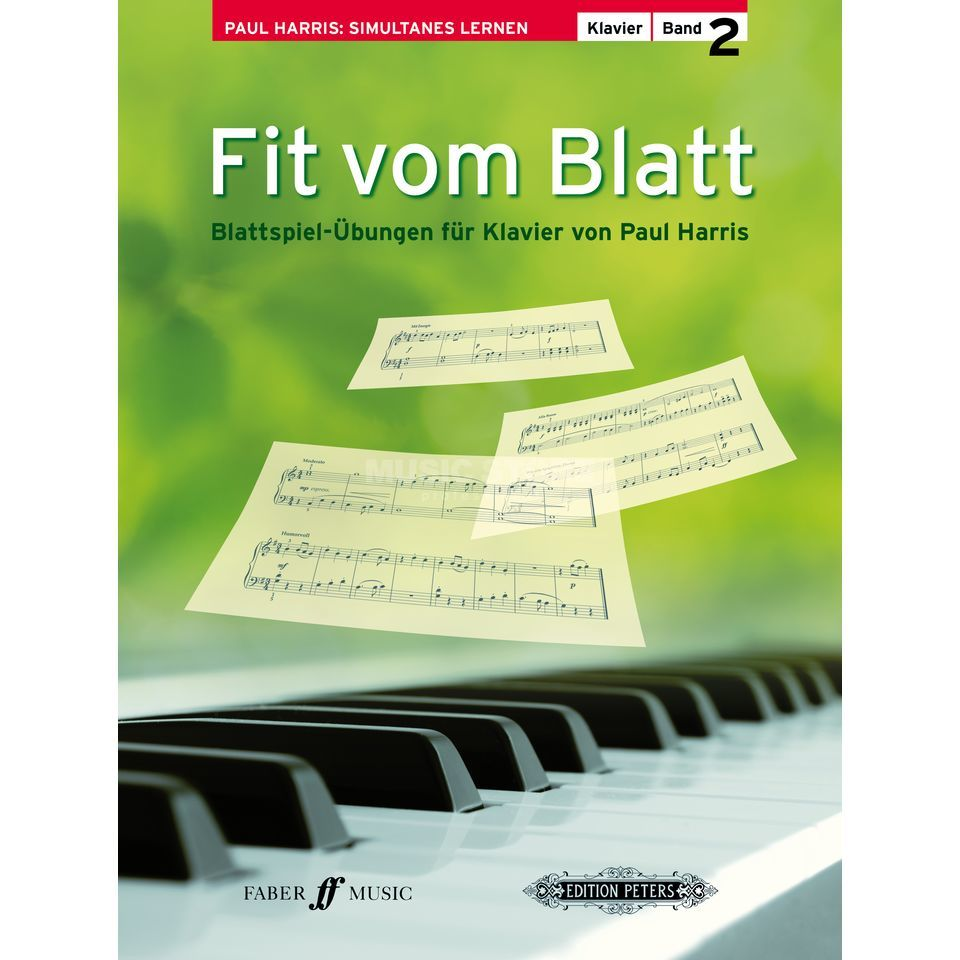 Faber Music Fit vom Blatt 2 Paul Harris Produktbild
