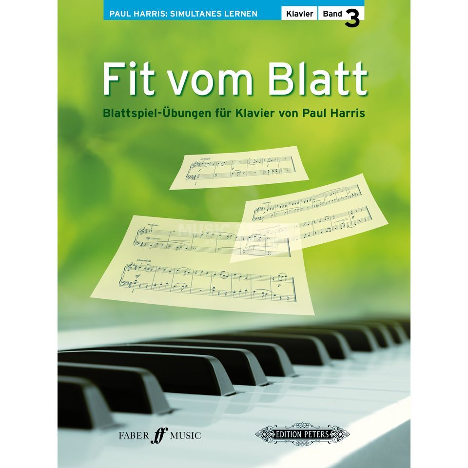 Faber Music Fit vom Blatt 3 Paul Harris Produktbild