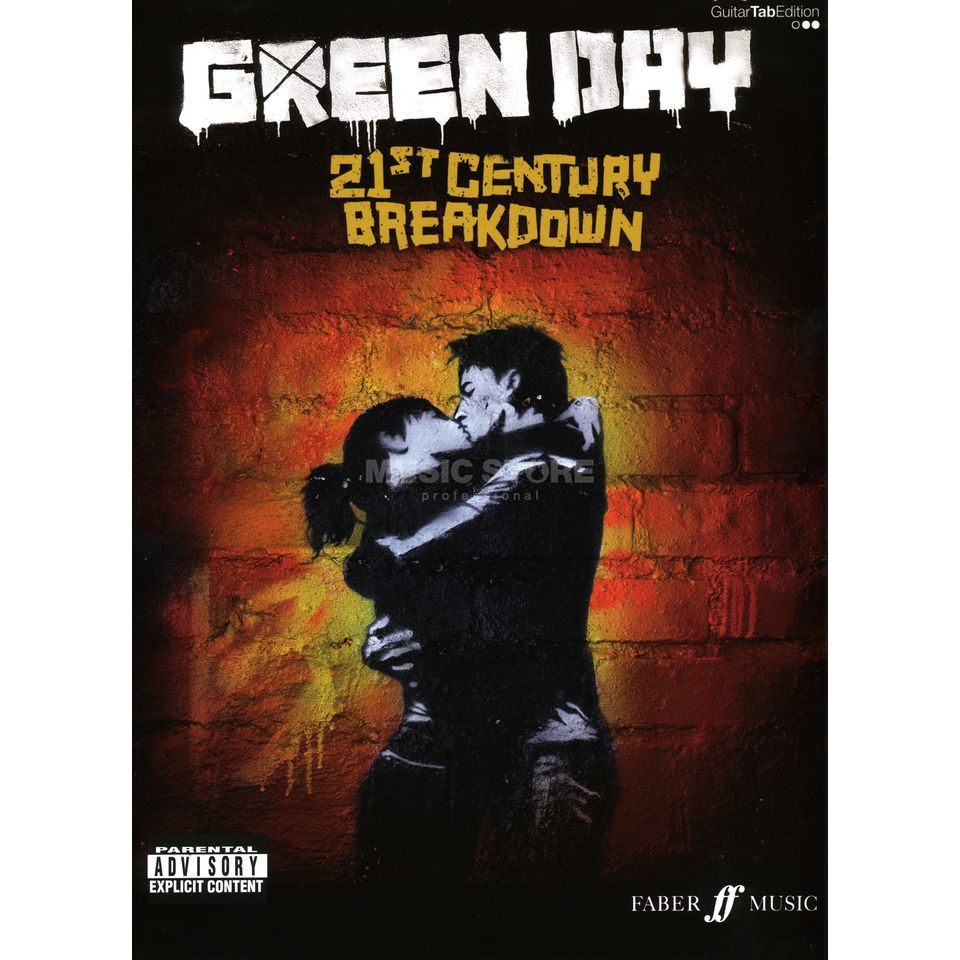 Faber Music Green Day: 21 Century Break TAB Produktbild