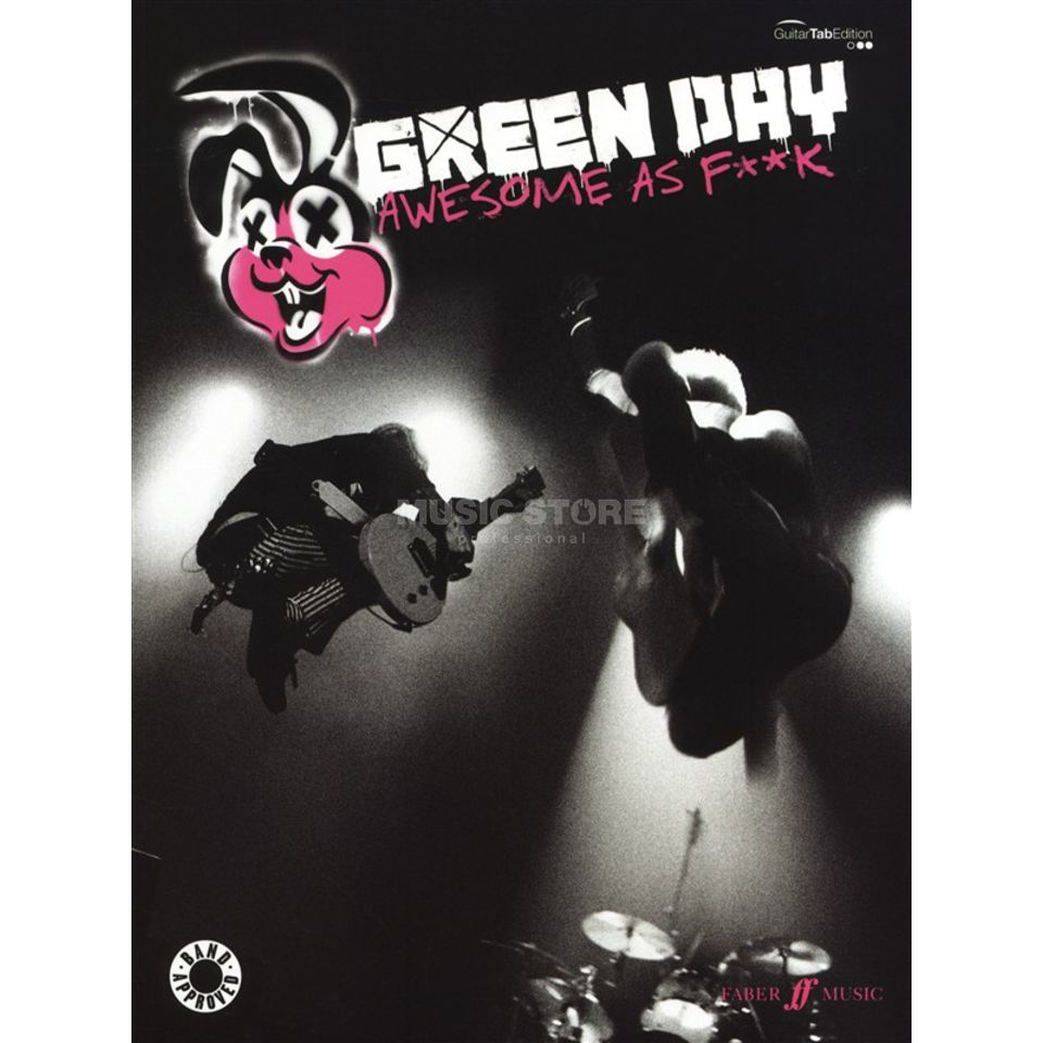 Faber Music Green Day: Awesome As F**k TAB Produktbild