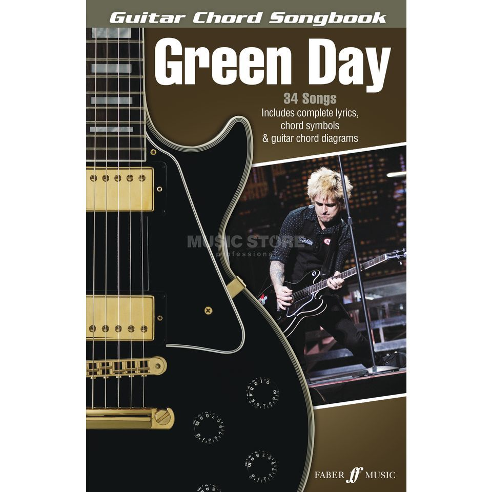 Faber Music Green Day: Guitar Chord Songbook Produktbild