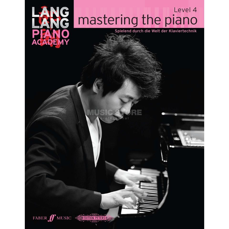 Faber Music Lang Lang: Mastering The Piano Level 4, Deutsch Produktbillede