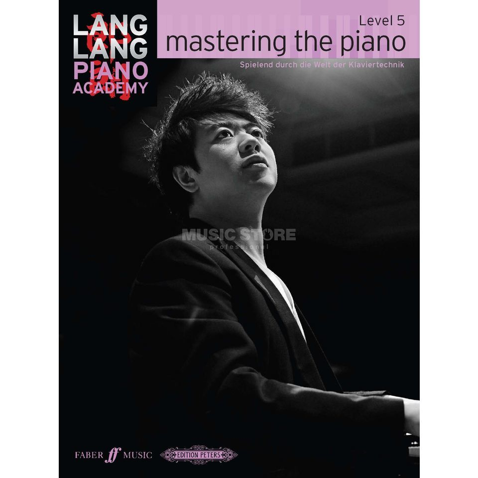 Faber Music Lang Lang: Mastering The Piano Level 5, Deutsch Produktbillede
