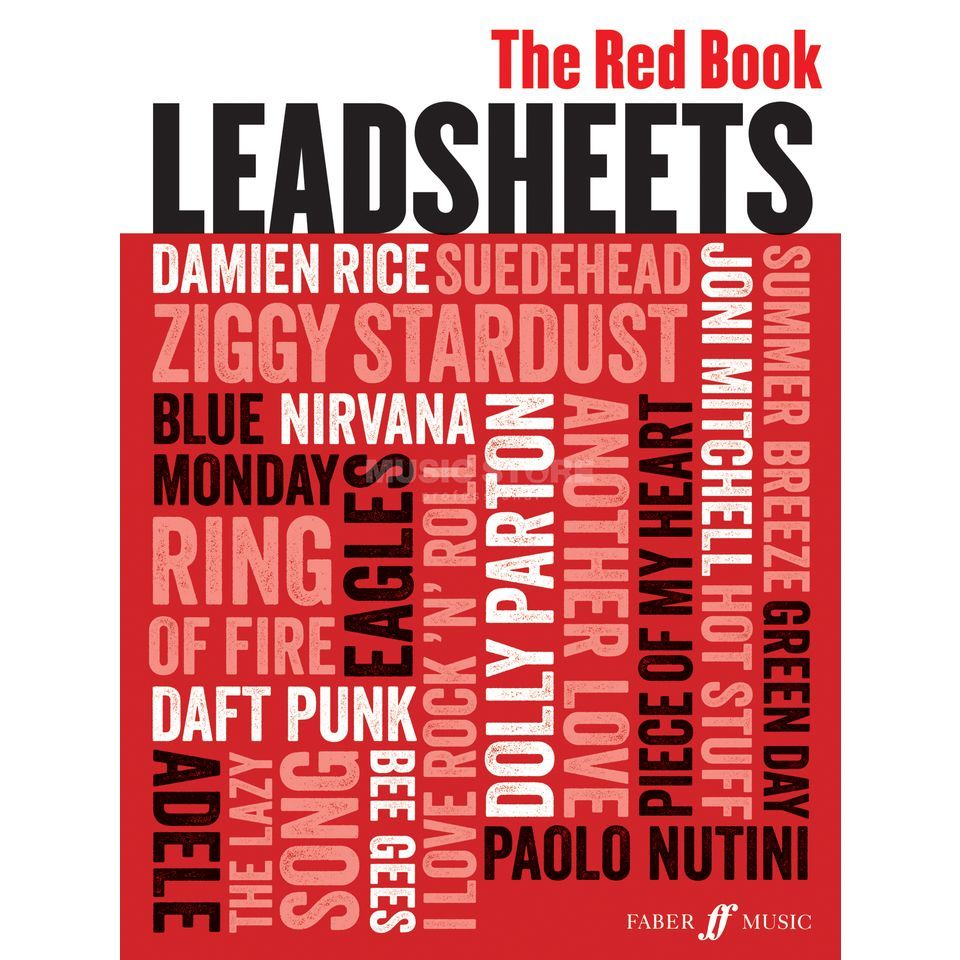 Faber Music Leadsheets (Red Book) Melodie, Texte, Akkorde Produktbild
