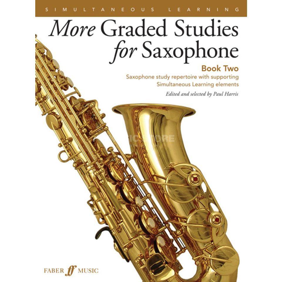 Faber Music More Graded Studies for Saxophone Book 2 Produktbillede
