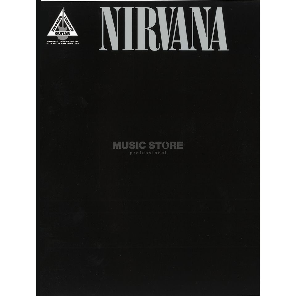 Faber Music Nirvana - Greatest Hits TAB guitar recorded versions Produktbild