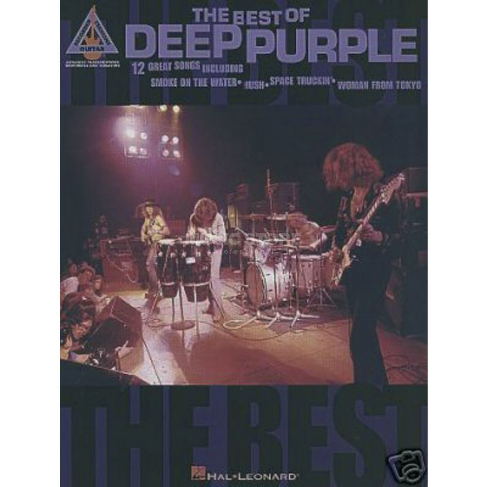 Faber Music The Best Of Deep Purple TAB Produktbillede