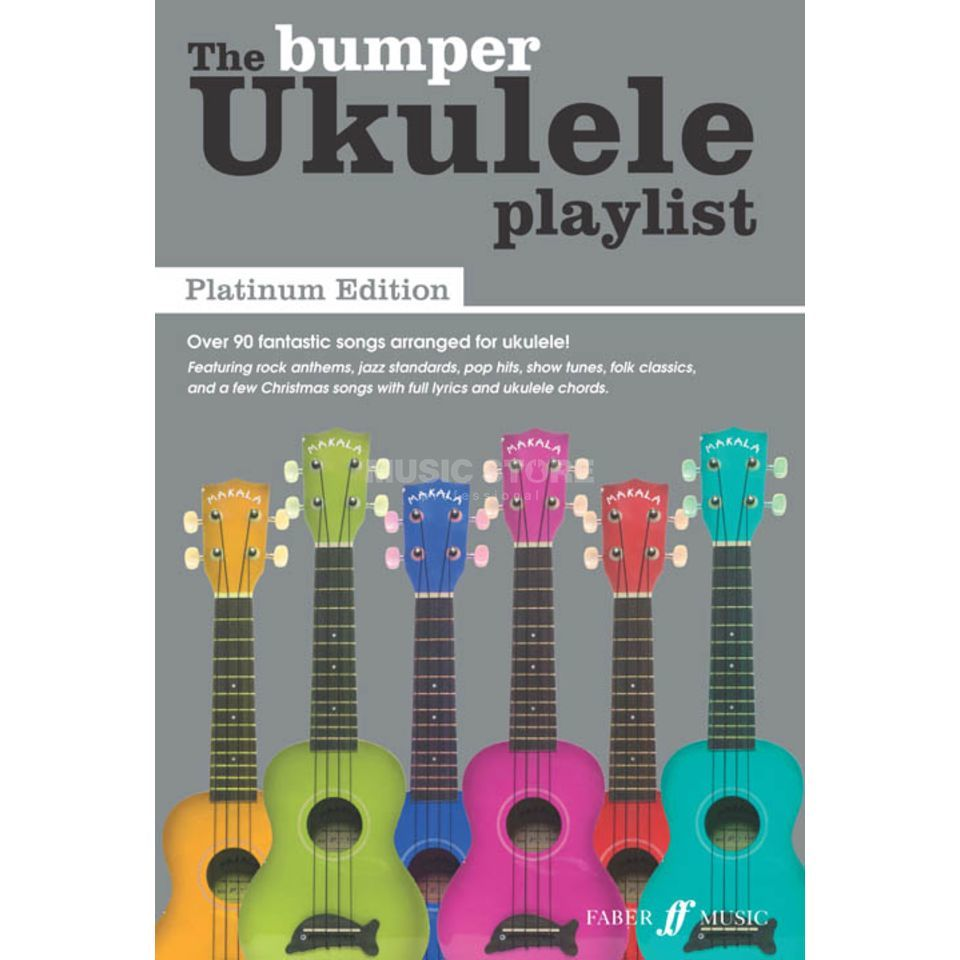 Faber Music The Bumber Ukulele Playlist - Platinum Edition Produktbillede