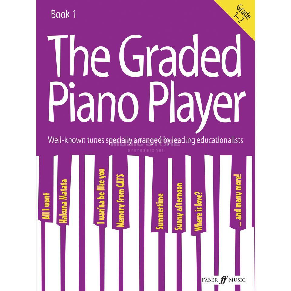 Faber Music The Graded Piano Player: Grades 1-2 Produktbillede