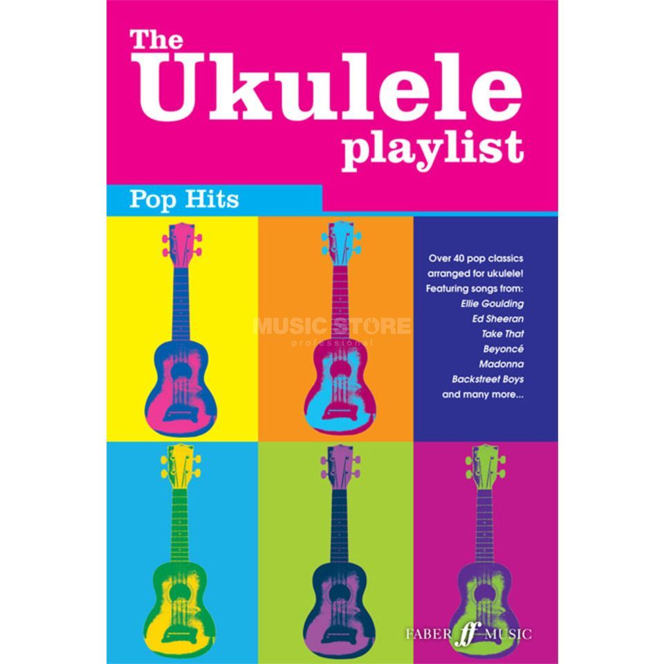Faber Music The Ukulele Playlist: Pop Hits Ukulele Produktbild