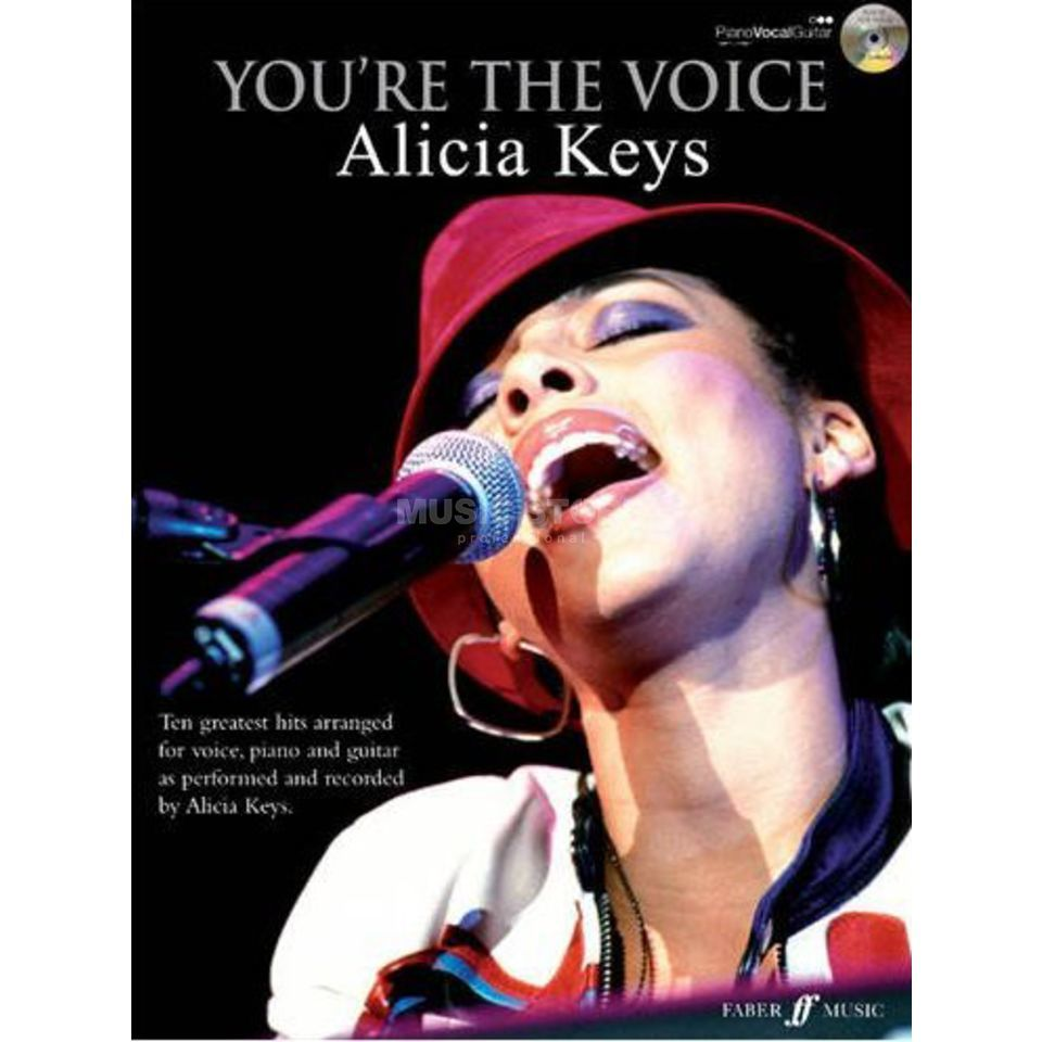 Faber Music You're the voice - Alicia Keys PVG, Sheet Music and CD Produktbillede