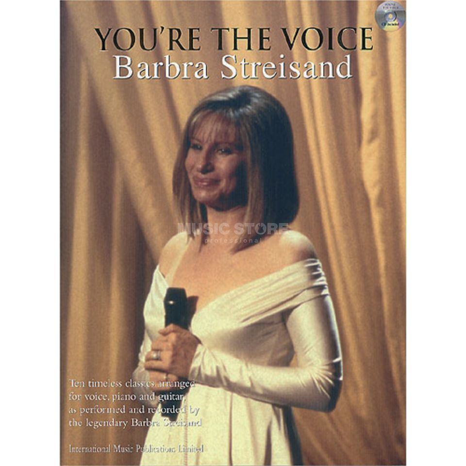 Faber Music You're the voice - B.Streisand mit Playback CD, PVG Produktbild