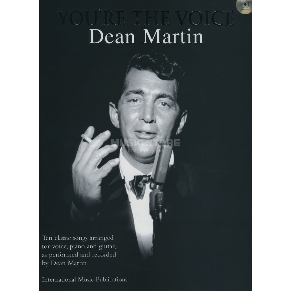 Faber Music You´re the voice - Dean Martin PVG, Sheet Music and CD Produktbillede
