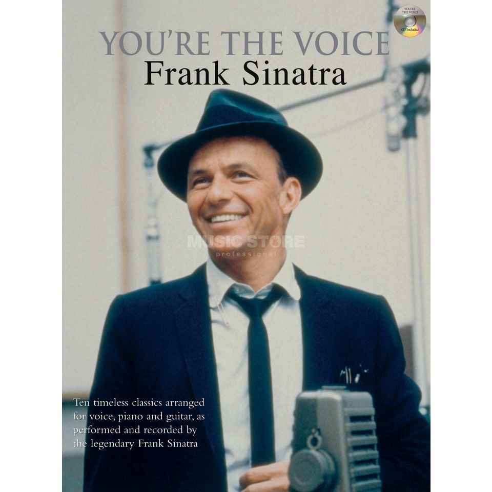 Faber Music You're the voice - F. Sinatra mit Playback CD, PVG Produktbild