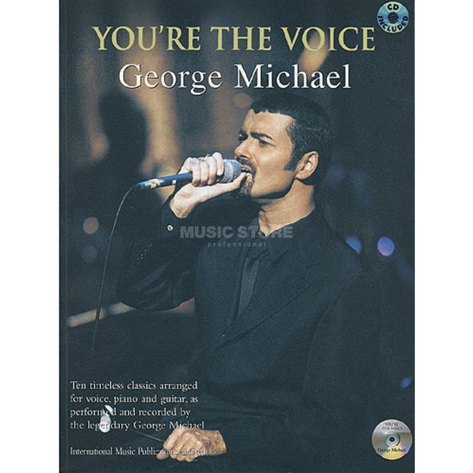 Faber Music You're the voice - G. Michael mit Playback CD, PVG Produktbild